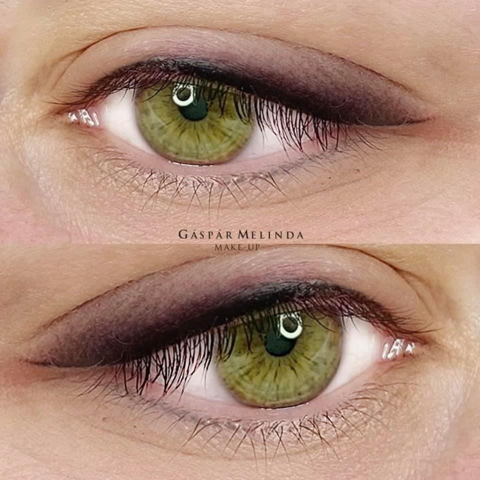 Púderes hatású szemhéj