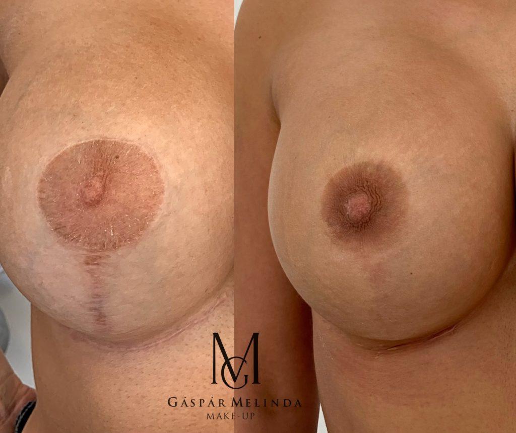 GM Make Up Szalon - mellbimbó tetoválás