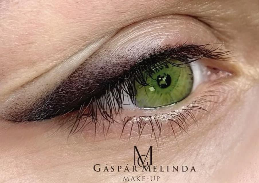Púderes szemhéj tetoválás - GM Make Up